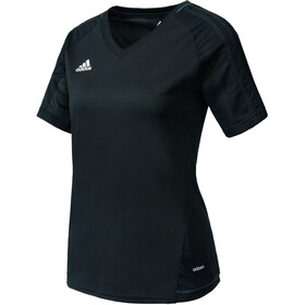 adidas Tiro 17 Trainings Jersey Dames, black/dark grey/white